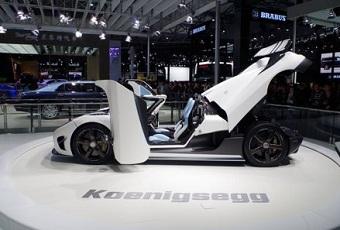 科尼赛克Agera R亮相上海车展