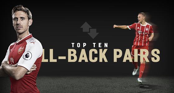 Top10:本赛季欧洲五大联赛进攻最好的十组边后卫
